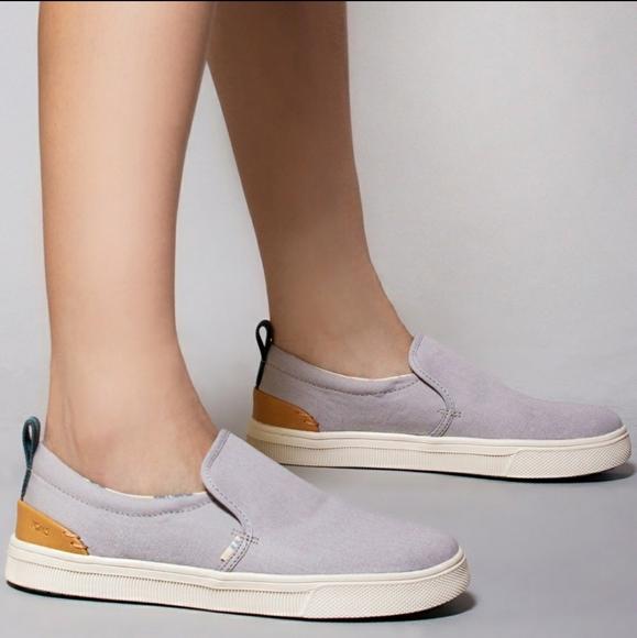 Toms Shoes | Trvl Lite Slipon Gray Size